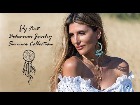 My first Bohemian Jewelry Summer Collection