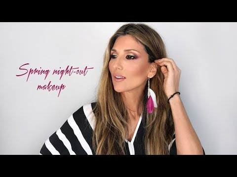 Spring night out makeup