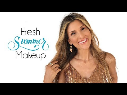 Fresh Summer Makeup