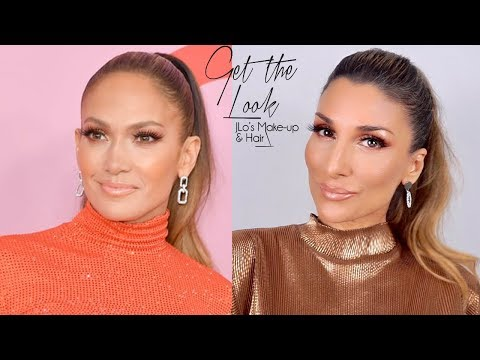 Get the Look: JLo's Makeup & Hair