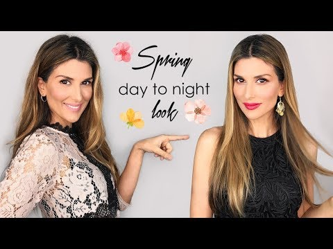 Spring day to night look