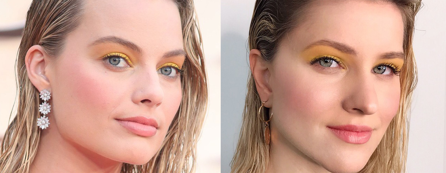 To Yellow Eyeshadow Look της Margot Robbie