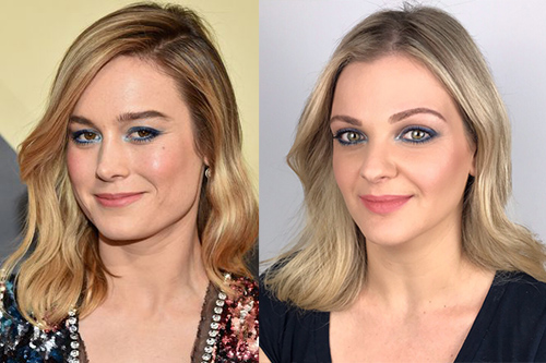 To SAG Awards Makeup της Brie Larson